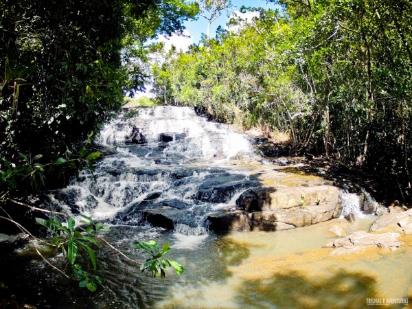 Cachoeira do Cleandro, em Itacaré, acessível também com Stand Up Paddle