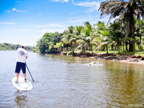 Stand Up Paddle no Rio de Contas em Itacaré