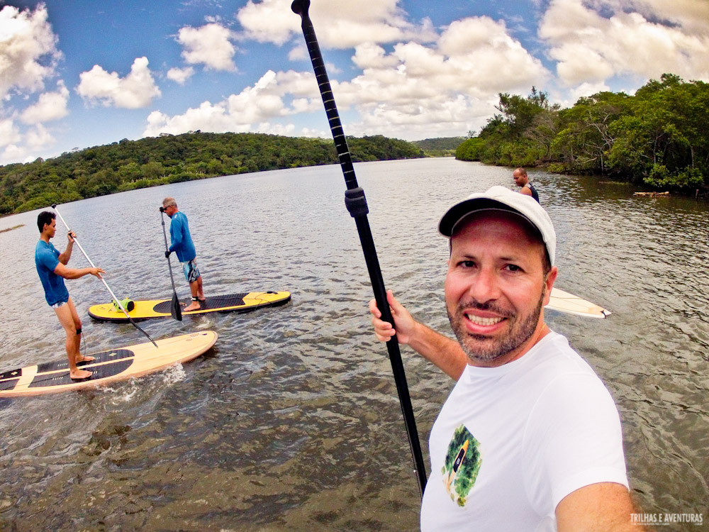 Stand Up Paddle com os amigos da Itacaré Soul SUP