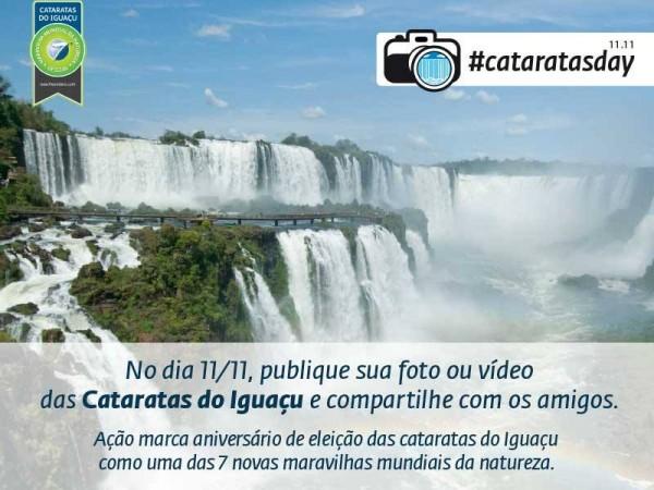 Participem do #CataratasDay