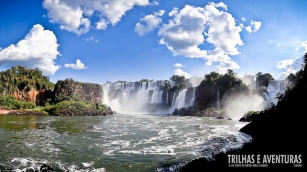 Cataratas do Iguaçu - Vista do lado argentino