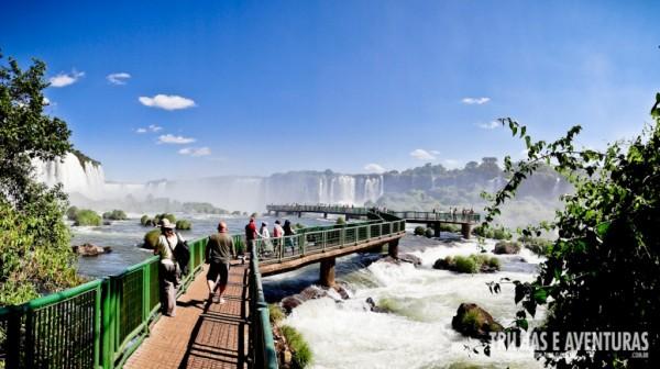 Cataratas do Iguaçu - Vista do lado brasileiro