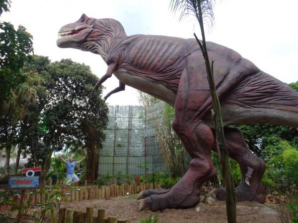 Vale dos Dinossauros na Dreamland, nova atração em Foz do Iguaçu