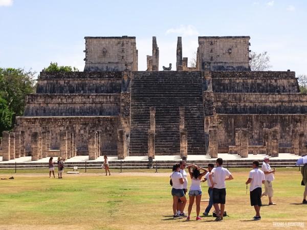 Templo dos Guerreiros em Chichén Itza