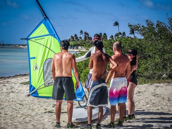 Windsurf em Aruba-3