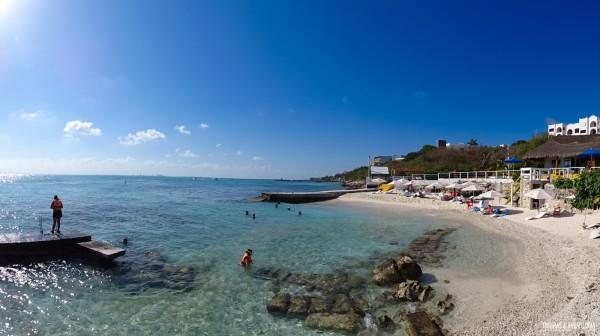 Praia exclusiva em Garrafón de Castilla - Isla Mujeres