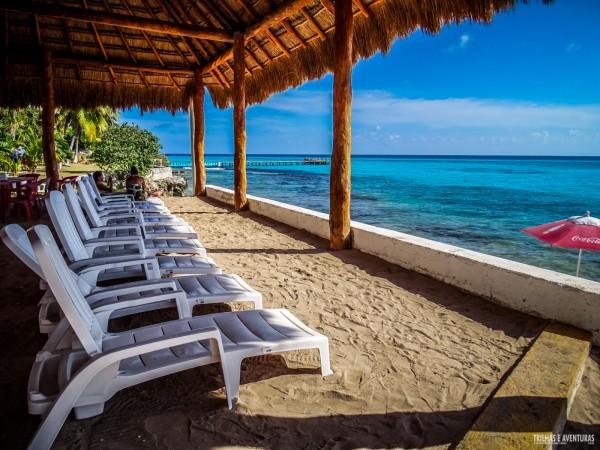 Garrafón de Castilla, Clube de Praia em Isla Mujeres