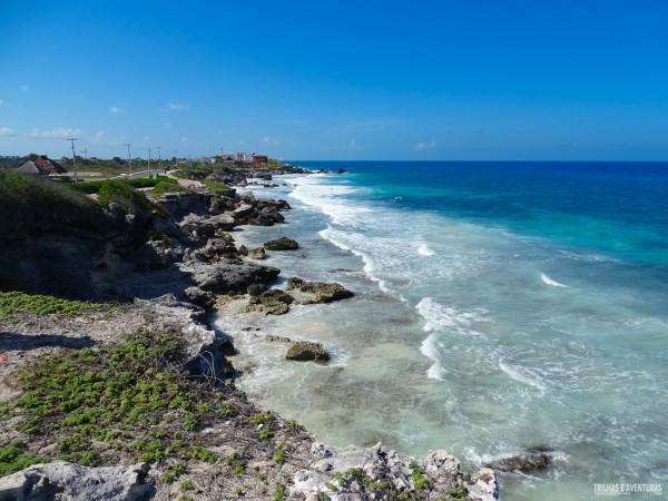 O lado selvagem de Isla Mujeres