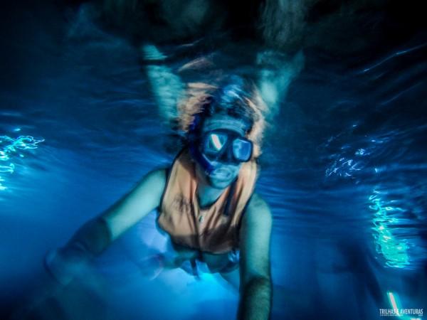 Mergulho de snorkel no Cenote Estrela