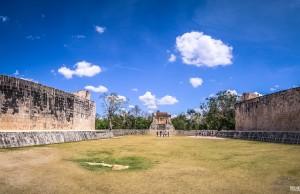 Campo de Jogo de Pelota, Chichén Itza - México