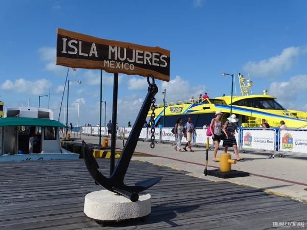 Chegada em Isla Mujeres