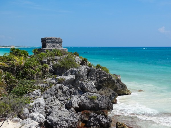 Tulum foi a única cidade maia construída na beira do mar