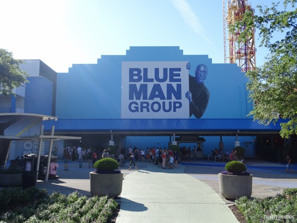 Blue Man Group, no City Walk - Orlando