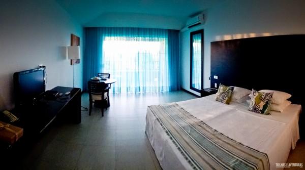 Quarto dos apartamentos no Dom Pedro Laguna Resort