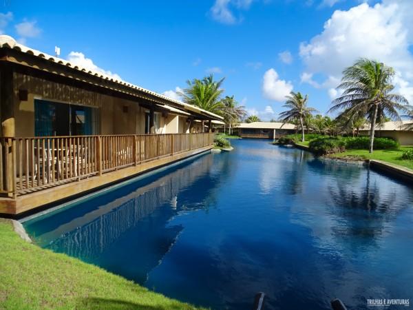 Villas do lago no Dom Pedro Laguna Resort