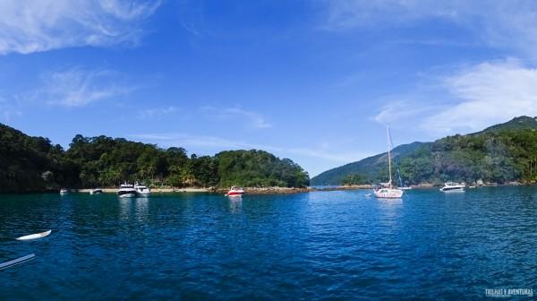 Lagoa Azul em Ilha Grande - RJ