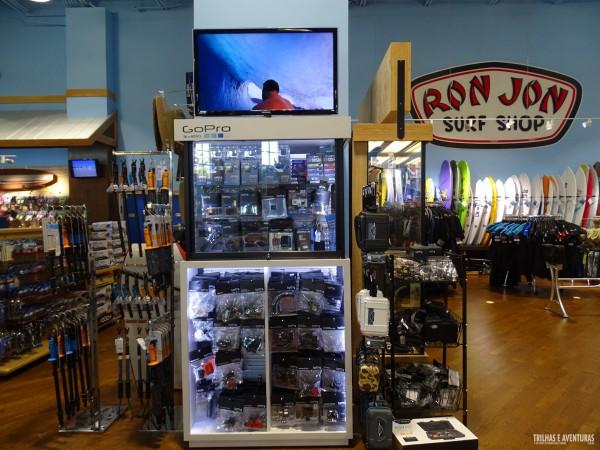 Artegon Mall, com muitos acessórios para GoPro - Orlando
