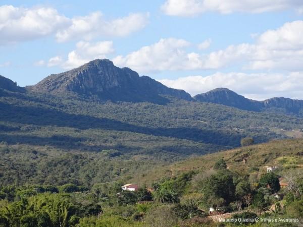 Vista da Serra São José do morro da Capela de São Francisco de Paula