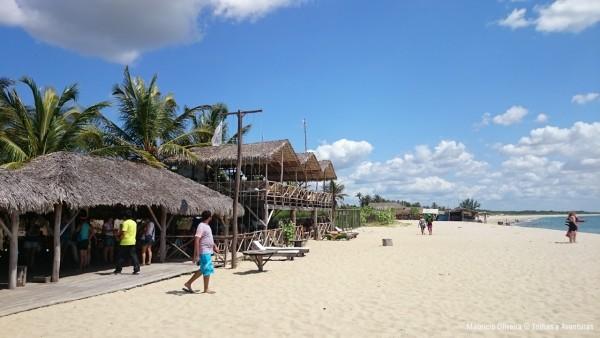 Praia e Pousada BGK Barra Grande Kitepoint no Piauí