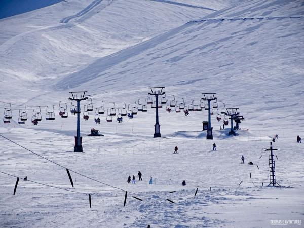 Estação de Esqui de Corralco - Chile