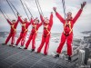 Edgewalk na CN Tower, em Toronto