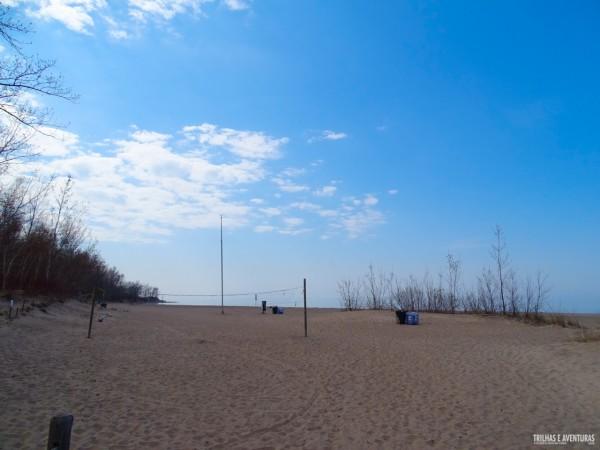 Áreas de lazer em Hanlan's Point Beach