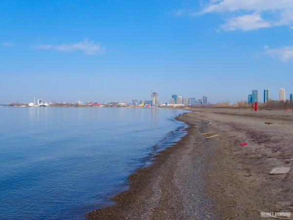 Hanlan's Point Beach, a praia de nudismo em Toronto Islands