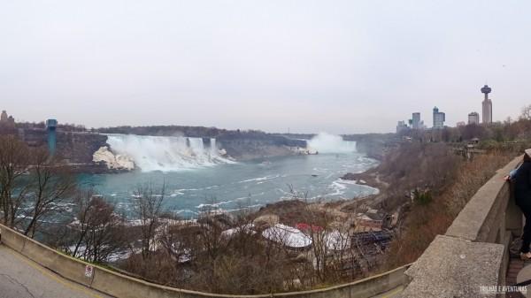 Pena que não peguei um dia de sol em Niagara Falls... já quero muito voltar!