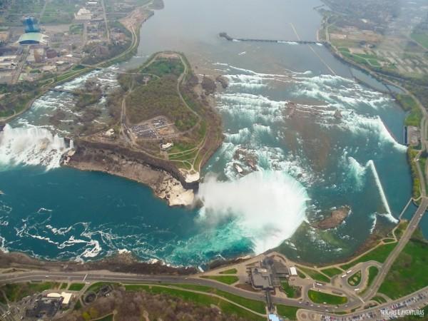 Voo panorâmico de helicóptero em Niagara Falls