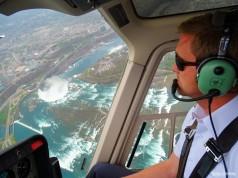 Vôo panorâmico de helicóptero em Niagara Falls