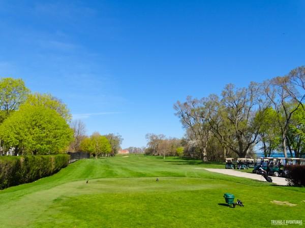 Niagara-On-The-Lake é muito procurada por golfistas