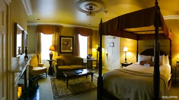 Quarto super espaçoso do Hotel The Charles Inn, em Niagara-On-The-Lake