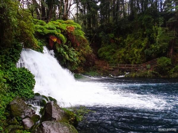 Cachoeiras Ojos del Caburgua