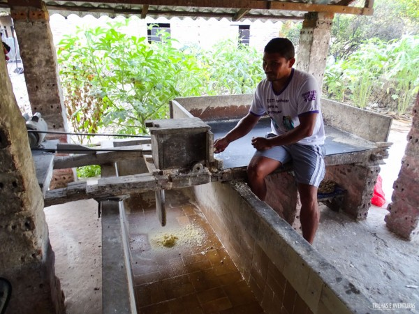 Casa de Farinha, parte do Turismo de Experiência do Sebrae na Rota das Emoções