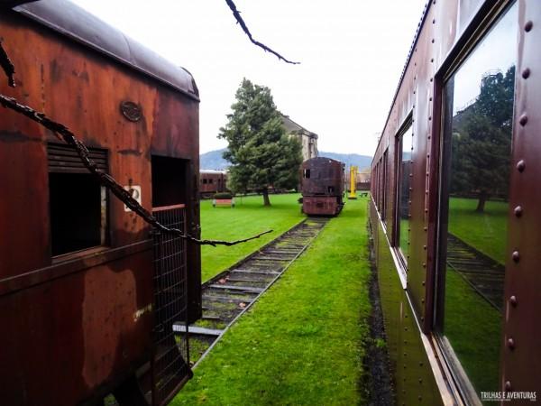 Museo Nacional Ferroviário Pablo Neruda, em Temuco