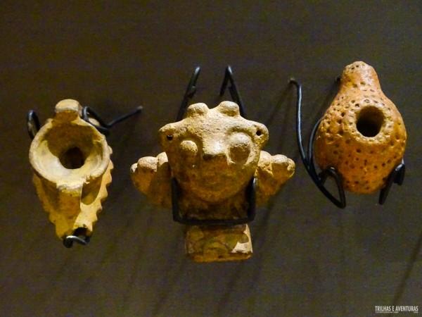 Peças Mapuche no Museu Regional de la Araucania