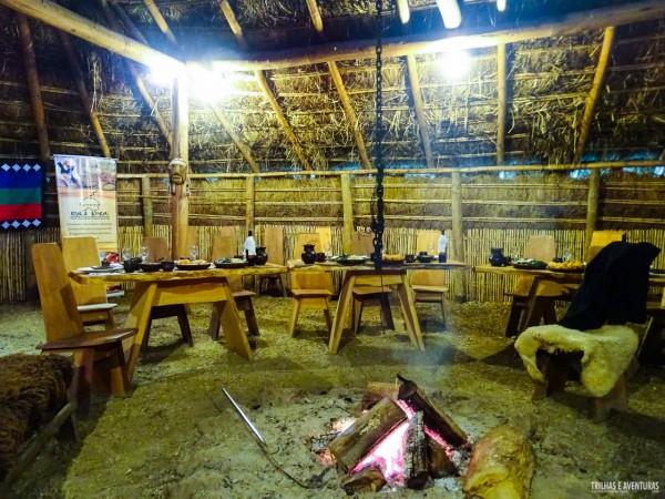 Almoço na Ruka Kimun - Rota Mapuche em Temuco