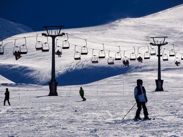 Estação de Ski Corralco - Chile