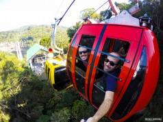 Bondinhos Aéreos do Parque do Caracol, em Canela