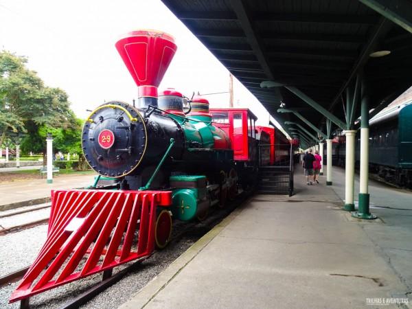 O Chattanooga Choo Choo Hotel já foi uma estação de trem