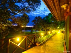 Fim de tarde no Pantanal Jungle Lodge