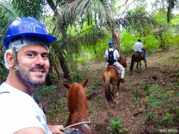 Cavalgada na Fazenda São João no Pantanal