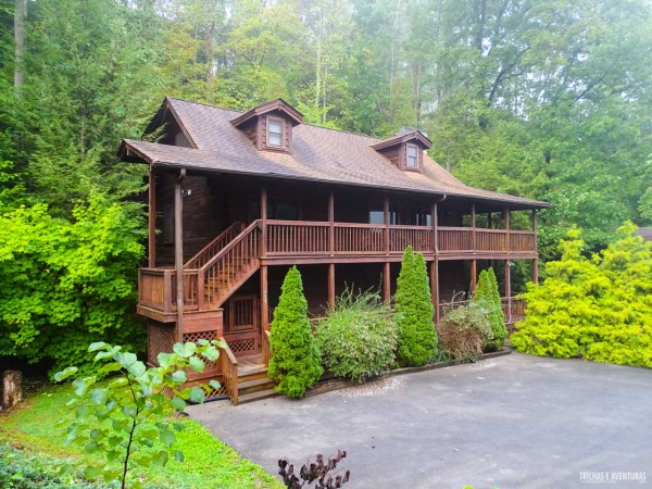 Eagles Ridge Resort, nossa cabana particular em Pigeon Forge