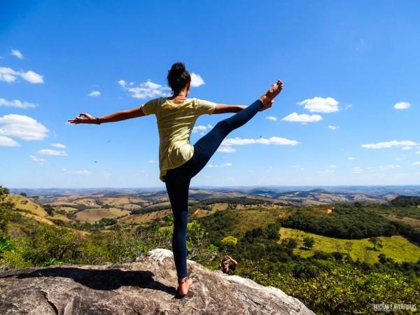 Yoga na Serra do Lenheiros em SJDR