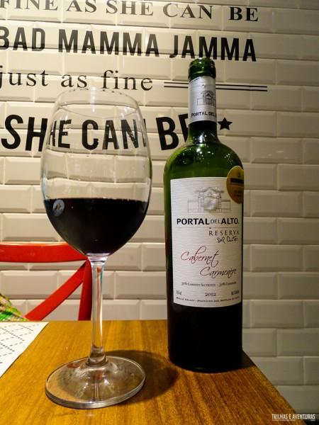 Vinho chileno Portal del Alto Cabernet Carmenere Reserva 2012
