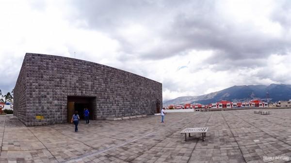 A Capilla del Hombre que guarda a Chama Eterna em Quito