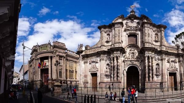 Igreja da Companhia de Jesus, no Centro Histórico de Quito