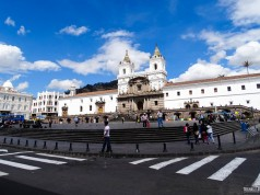 Igreja e Convento de San Francisco, em Quito