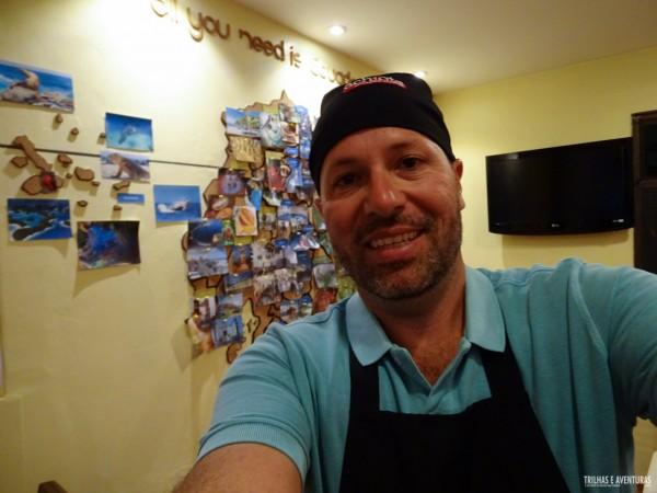Virei chef por 1 dia em Quito!