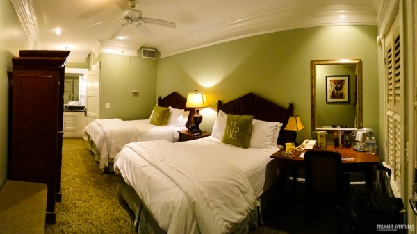Quarto super luxo no Hotel Village Inn and Pub, em Golden Isles